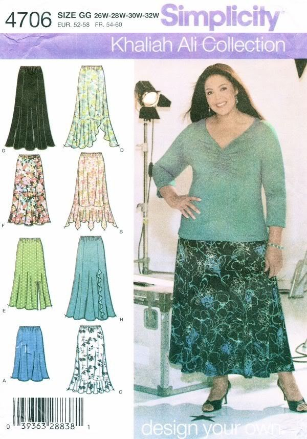 Simplicity Khaliah Ali Collection Sewing Pattern Womens Full Figure