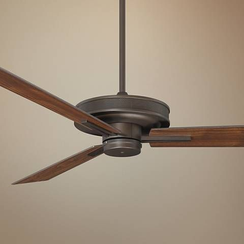 60 Taladega Oil Rubbed Bronze Finish Damp Rated Ceiling Fan 15h34 Lamps Plus In 2020 Ceiling Fan Rustic Ceiling Fan Ceiling Fans Without Lights