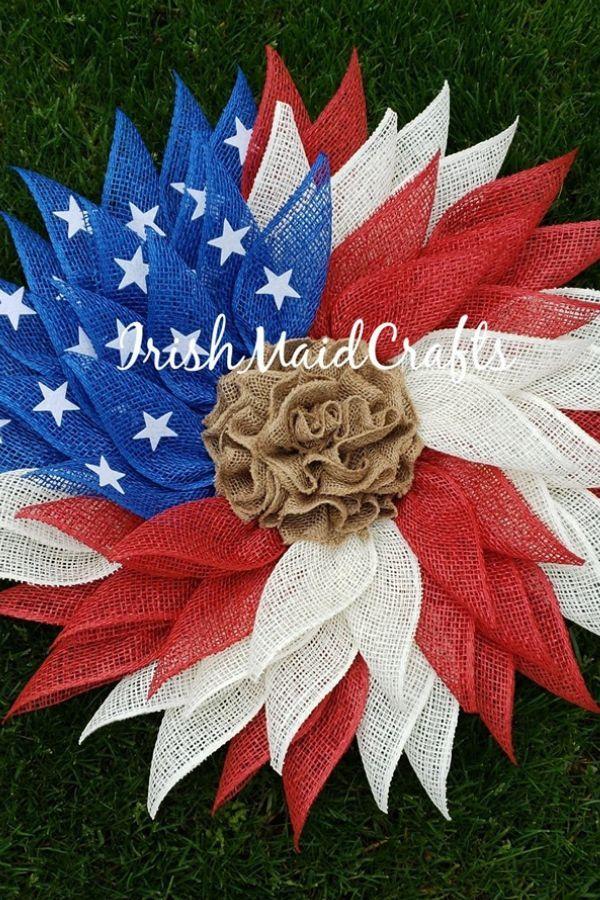 Photo of Feiern Sie Amerika mit diesem DIY patriotischen Kranz! – Wreath's – Wreath
