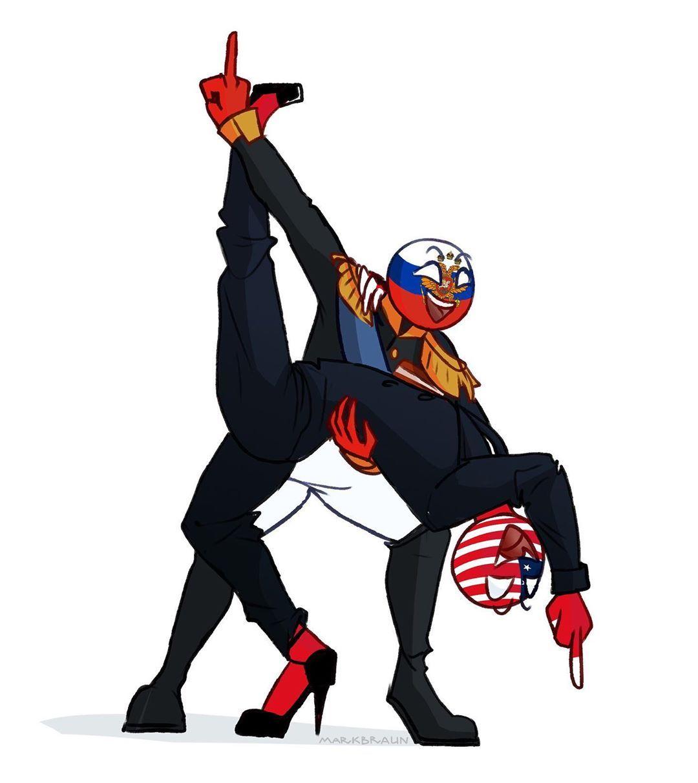 #countryhumans Russian Empire and USA | Комиксы, Фэндомы ...