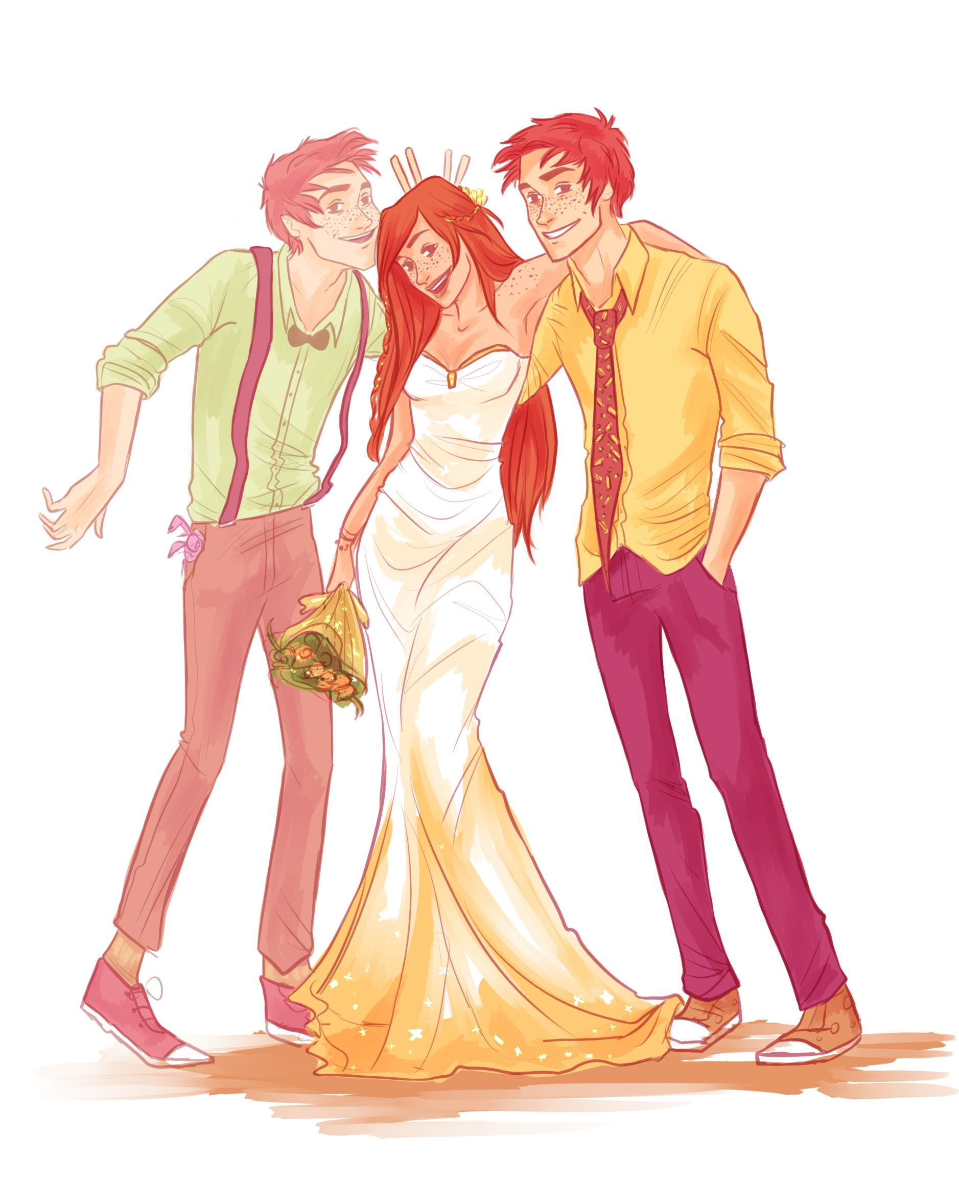 Harry Potter World Wedding: Never Like This. By Viria13 One Of Them Will Never See