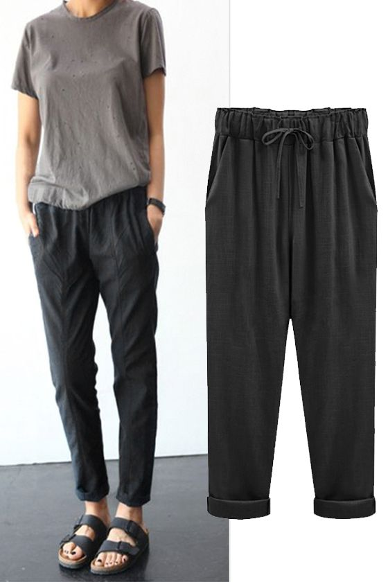 Casual Loose Fitting Comfortable and casual harem pants
