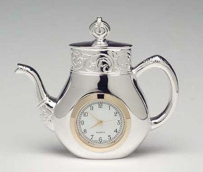 british teapot clock | Teapot clock