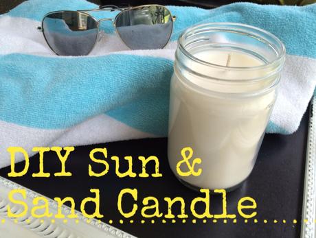 recipe diy sun sandle candle pinterest. Black Bedroom Furniture Sets. Home Design Ideas