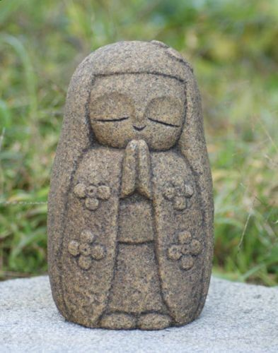 Reiki - Japan-Collection-Healing-Ksitigarbha-made-of-Granite-JIZO-H-18-cm - Amazing Secret Discovered by Middle-Aged Construction Worker Releases Healing Energy Through The Palm of His Hands... Cures Diseases and Ailments Just By Touching Them... And Even Heals People Over Vast Distances...