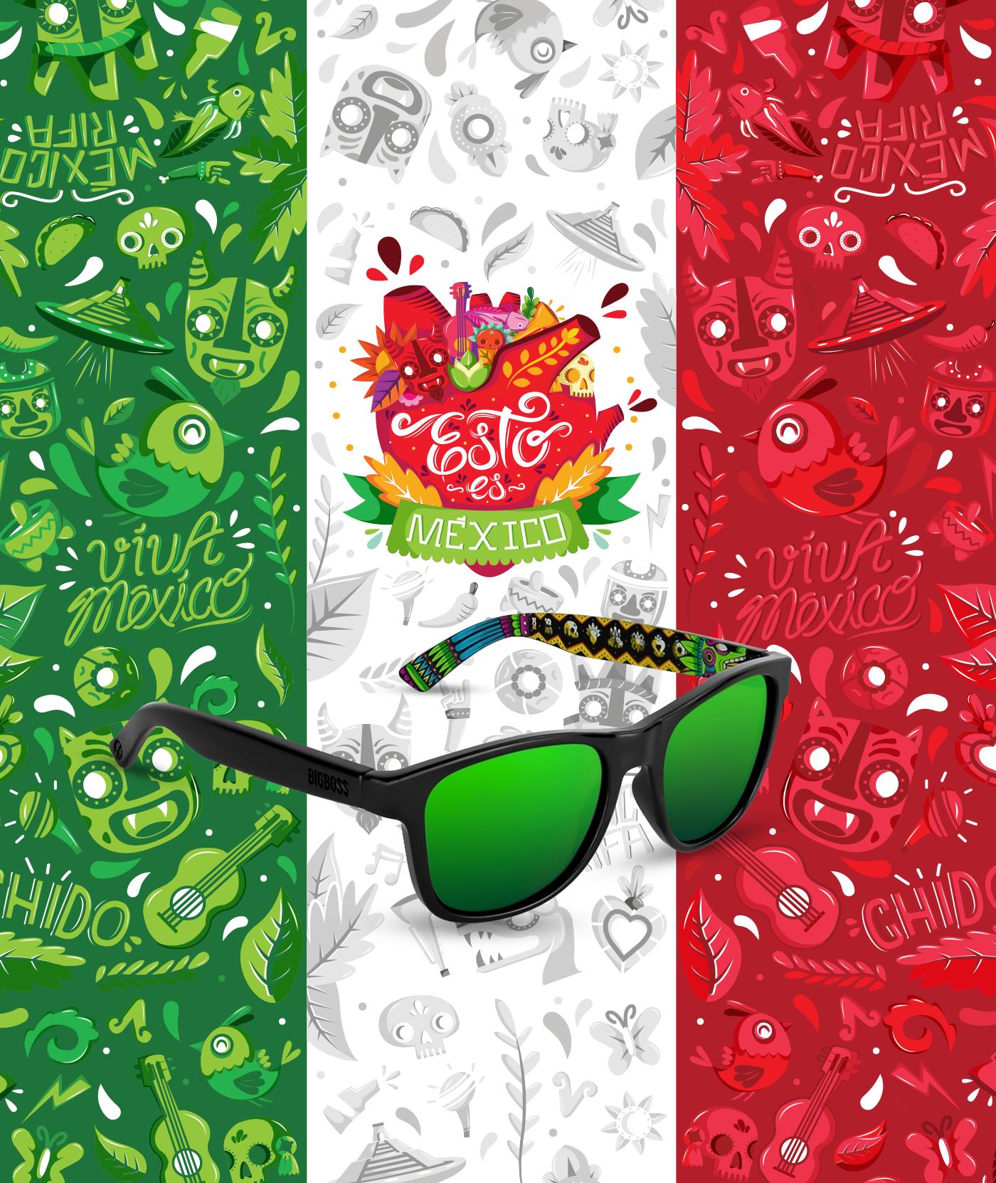 Echa Un Vistazo A Este Proyecto Behance Esto Es Mexico Big Boss Sunglasses Https Www Behance Net Gallery 6506840 Cat Eye Sunglasses Eye Sunglasses Amor