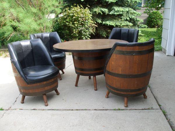 Wood Barrel Chair   Google Search