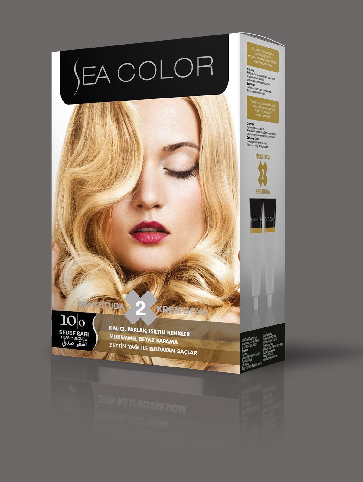 Sea Color Sac Boyasi 10 0 Sedef Sari 2020 Renkler Sac Boyasi