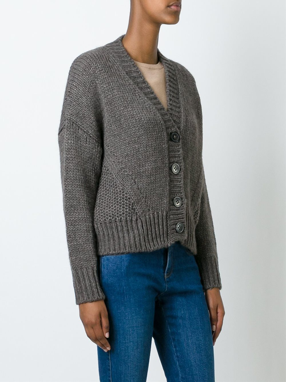 Roberto Collina cropped cardigan | knits | Pinterest | Cardigans ...