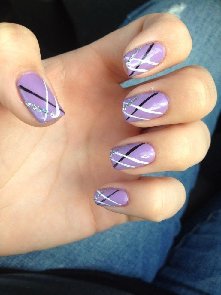 Gel Nail Designs For Summer 2014 4 The Luv Of Nail Art