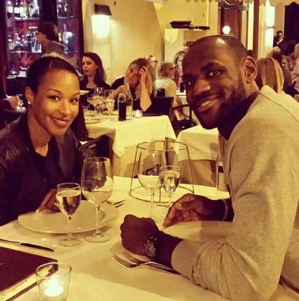 LeBron James & Wife Savannah Brinson-James