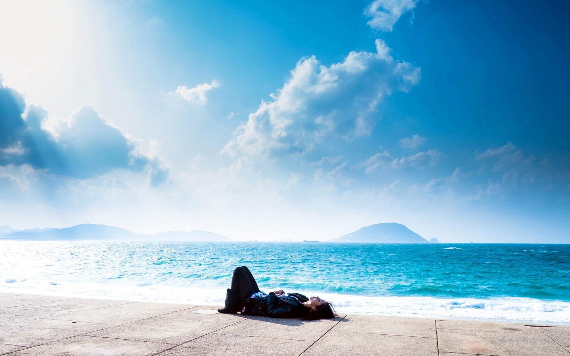 фото релакс у моря более