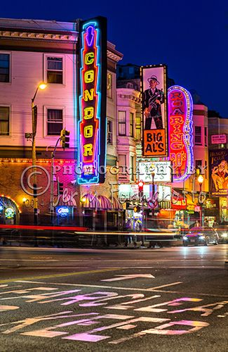 The Striptease Bars Or Topless Bars Are In The North Beach Section Of San Francisco