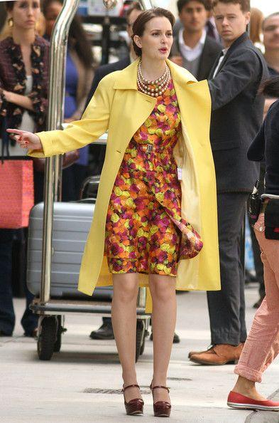 Leighton Meester Gossip Girl Fashion