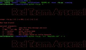 Red Team Arsenal is a web/network security scanner which has