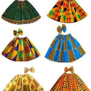 Ankara Girls set/ Birthday gift for girls/ Girls C