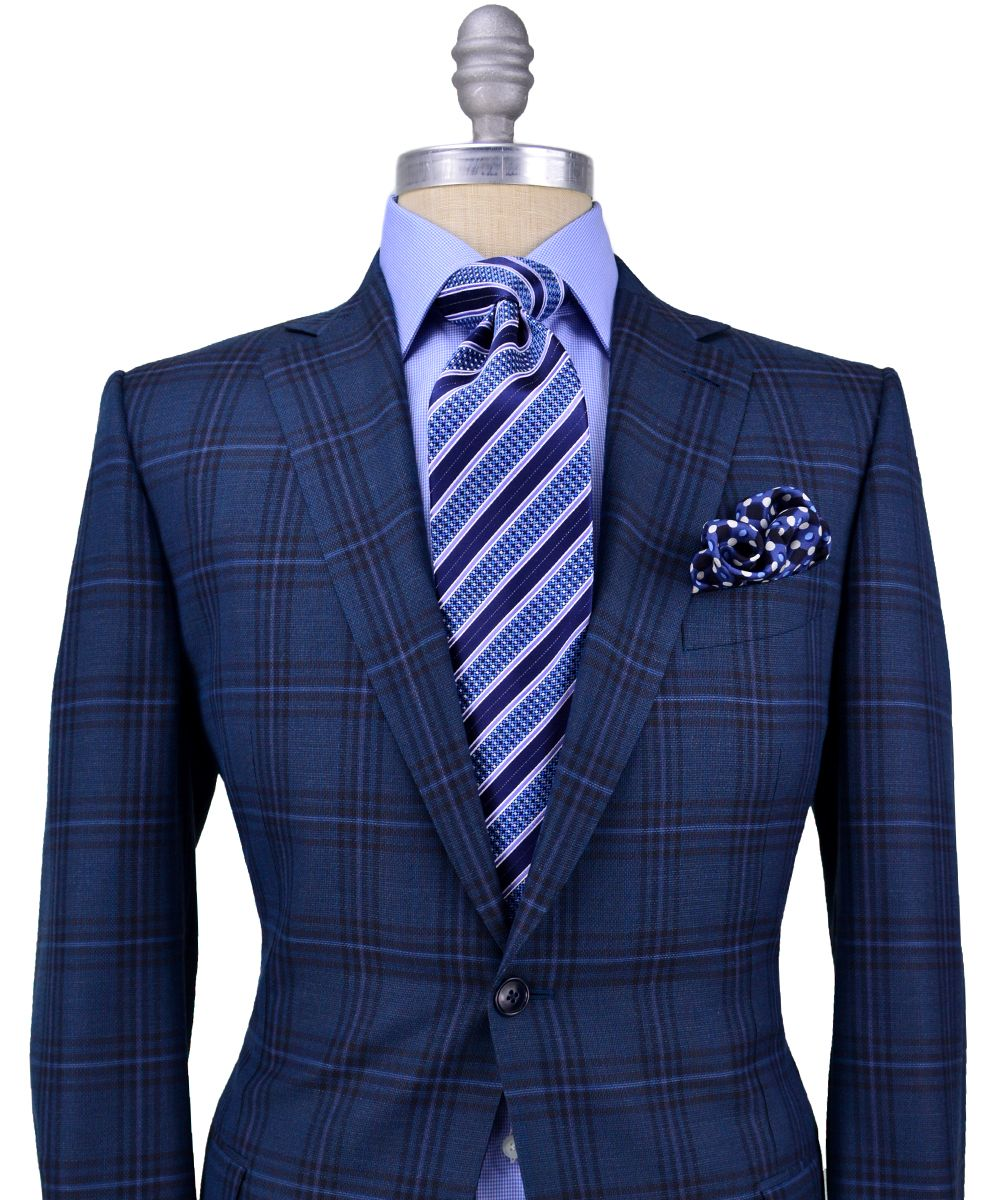 dc4b6de3ba I don't actually like this tie but the suit is nice. Ermenegildo ...