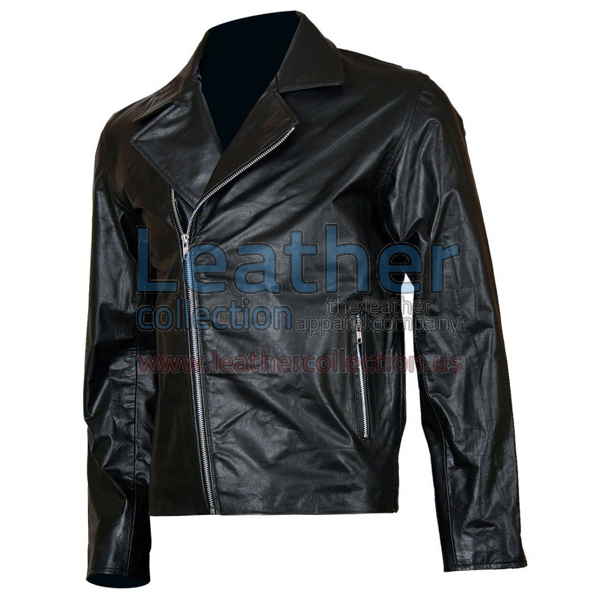 Ghost Rider Biker Leather Jacket, This leather motorcycle jacket worn by Nicolas Cage in the movie Ghost Rider. This Racing leather jacket is slightly bent forward slide in silver genuine YKK zippers with wide collar has a distinctive design. also two angular zip pockets keep your hands warm, zippered cuffs with straps, bi-swing back. it is made of 100% genuine leather, which gives all the flexibility you need, plus the strength to most of the functions