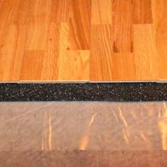 Acousticork Rr300 3 2 Mm 50 Ft Roll Rolled Rubber Flooring Rubber Flooring Underlayment