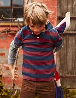 Boys Tops and T Shirts, Polo Shirts & Rugby Shirts | Mini Boden UK | Boden