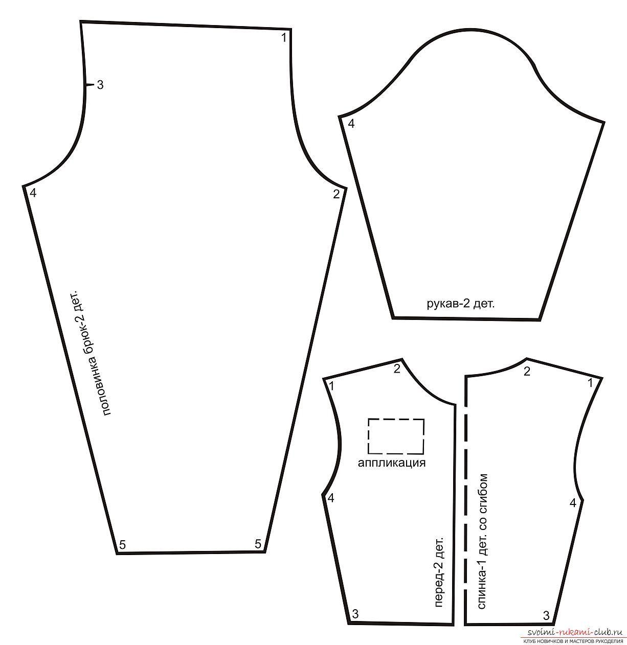 Выкройка одежда для кукол беби борн 84