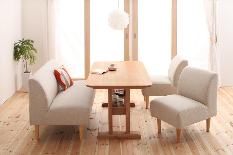 かわいいテーブルダイニング【como.】|ワンルーム、6畳からのインテリア通販サイト moonday(ムーンデイ)