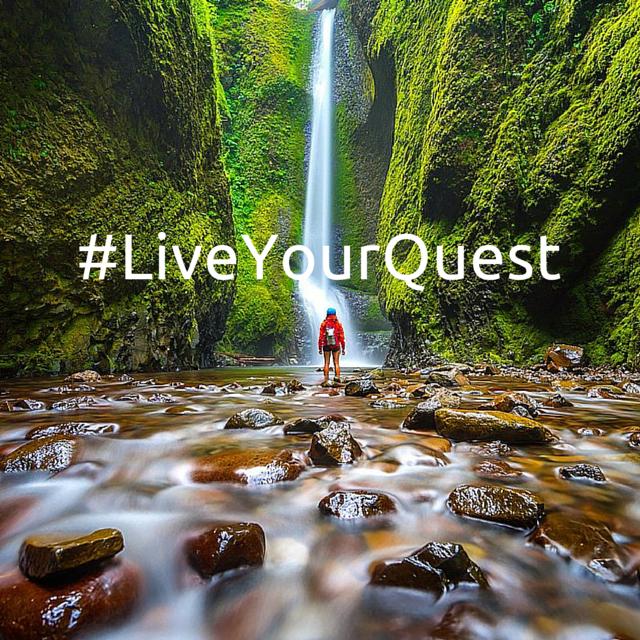 A breathtaking waterfall shot from AQ Ambassador Tiffany Nguyen. Taken in the Oneonta Gorge in Oregon.