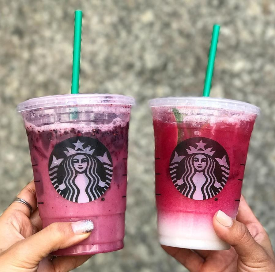 Starbucks Ombre Pink Drink Cups Of Kindness Ombre Pink Drink Pink Drink Starbucks Pink Drinks
