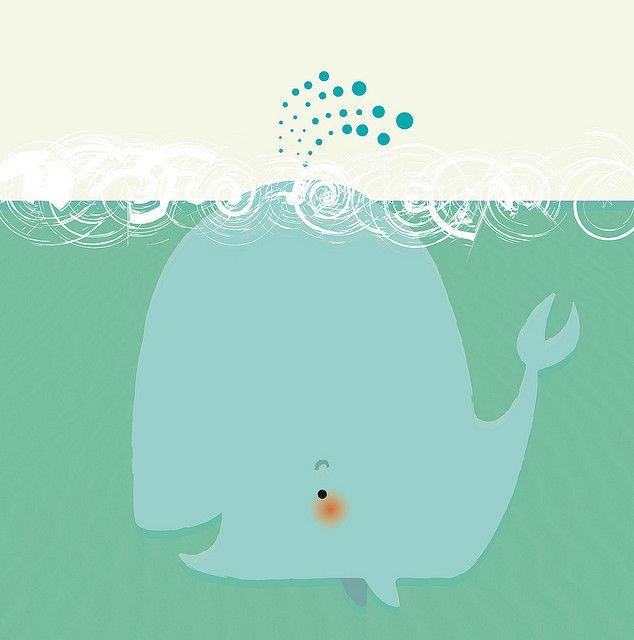 Whale Illustrazioni