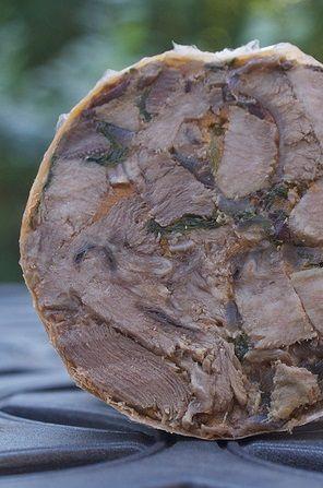 Terrina Lengua Beef Tongue Terrine This Recipe Share Incorporates Adobo Sauce