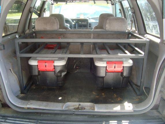 Rear Hatch Rack For Zj X2f Xj Jeep Cherokee Forum Jeep Cherokee Jeep Xj Jeep Zj