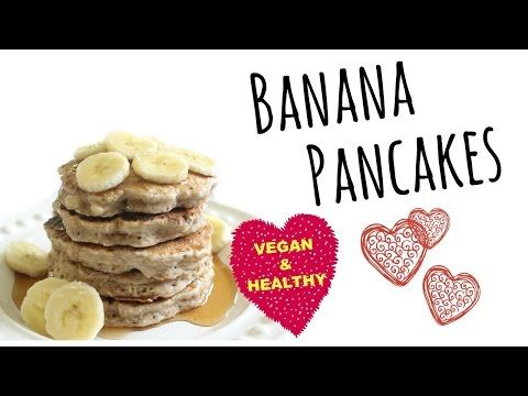 How to make fluffy vegan banana pancakes youtube favorite how to make fluffy vegan banana pancakes youtube ccuart Images