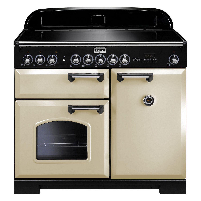 Cuisinière Induction Falcon CLASSIC DELUXE CDLEICRCEU - Cuisiniere mixte induction gaz pour idees de deco de cuisine