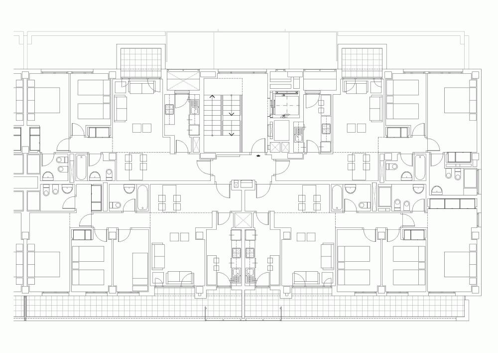 Galer a de 186 viviendas en tres cantos r as 20 espacio y arquitectura arquitectura - Viviendas en tres cantos ...