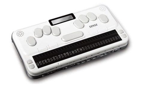 What is a Braille keyboard?