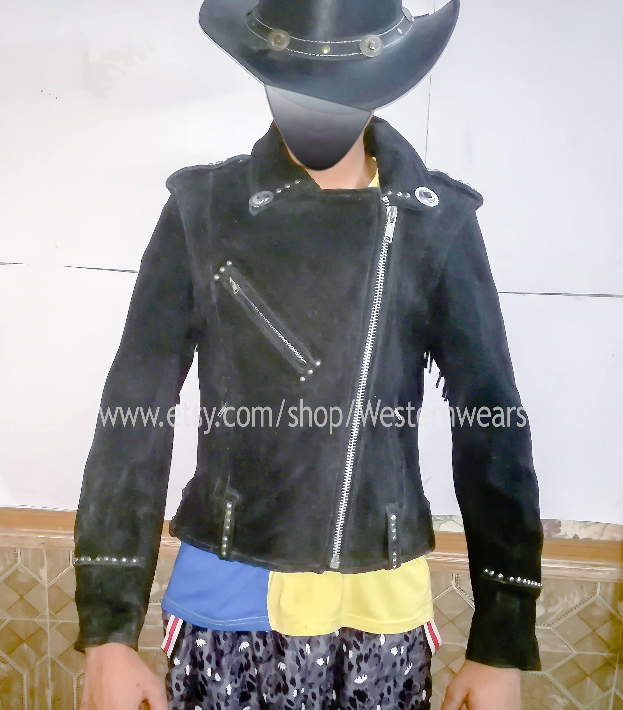 Suede fringe jacket pinterest