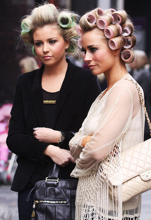 If Only I Could Walk Around In Curlers Like That If I