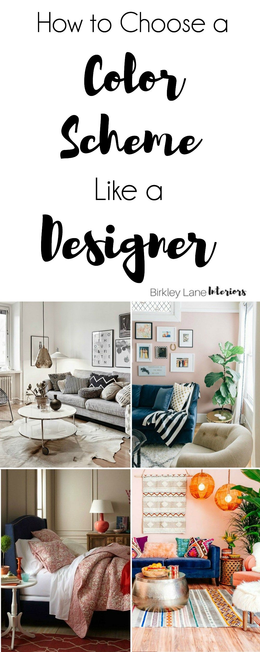 How To Choose a Color Scheme Like a Designer | Learning, Designers ...