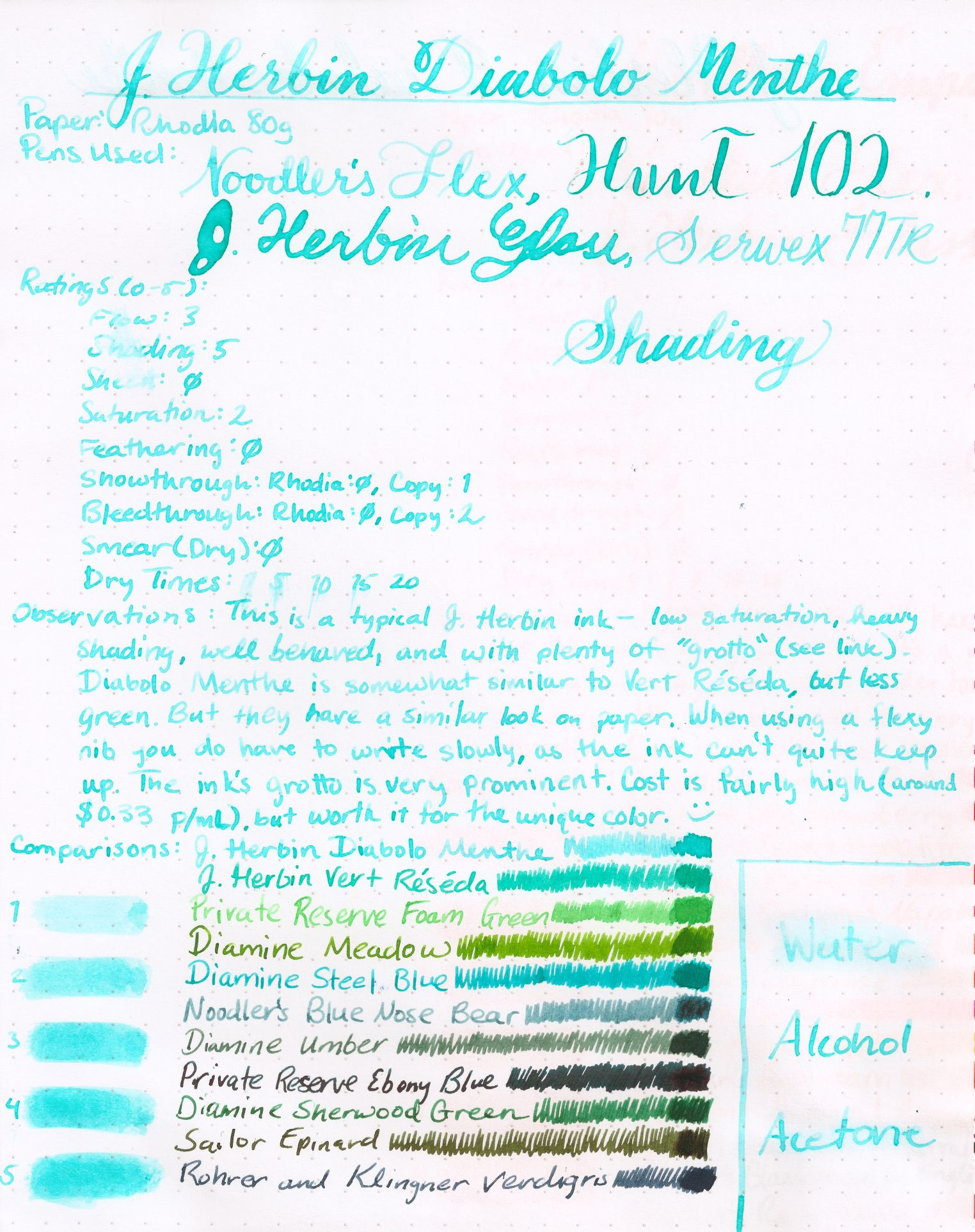 J Herbin Diabolo Menthe Medium In With Images