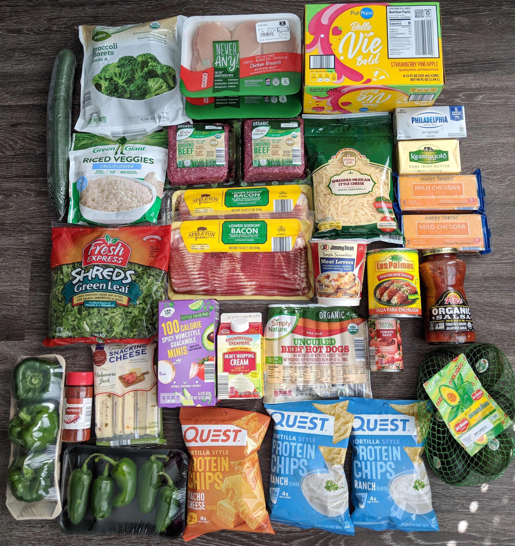 best targetted keto diet food