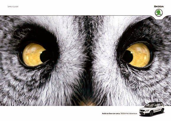 """No One Takes You Closer "" Ads for ŠKODA Yeti Adventure"