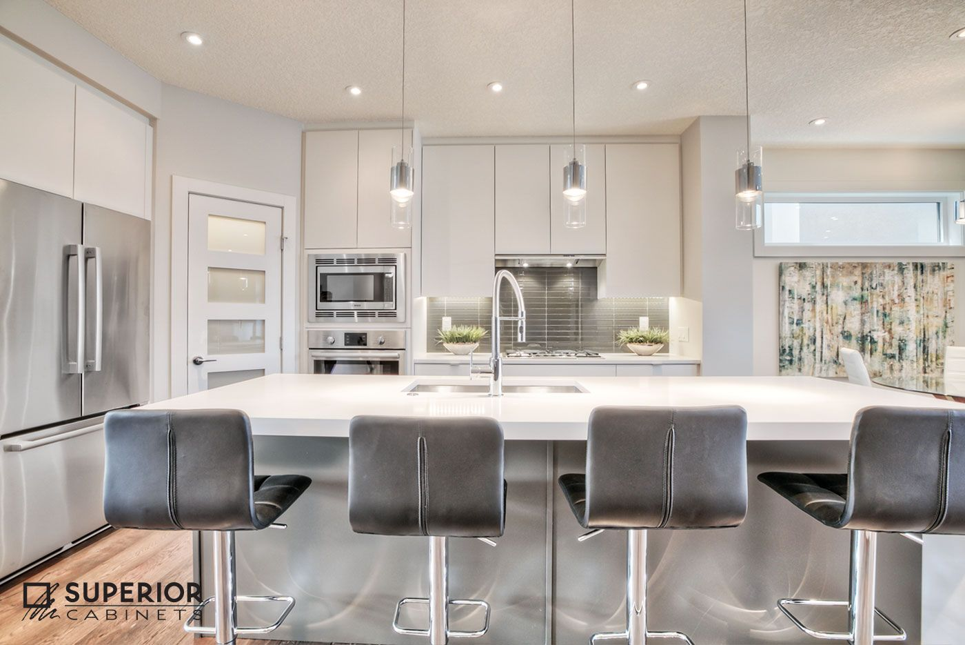 Designer Jasmine Larre Superior Cabinets Calgary Builder Treehouse Developments Calgary Finish Fusi Superior Cabinets Best Kitchen Designs Kitchen Photos