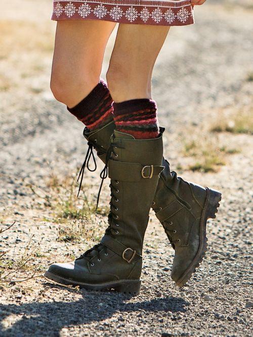 Martino Waterproof Tall Lace-Up Boots