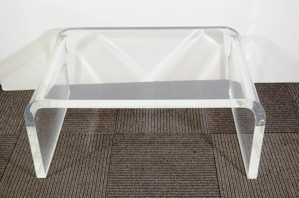 Print Of Amazing Lucite Coffee Table Ikea