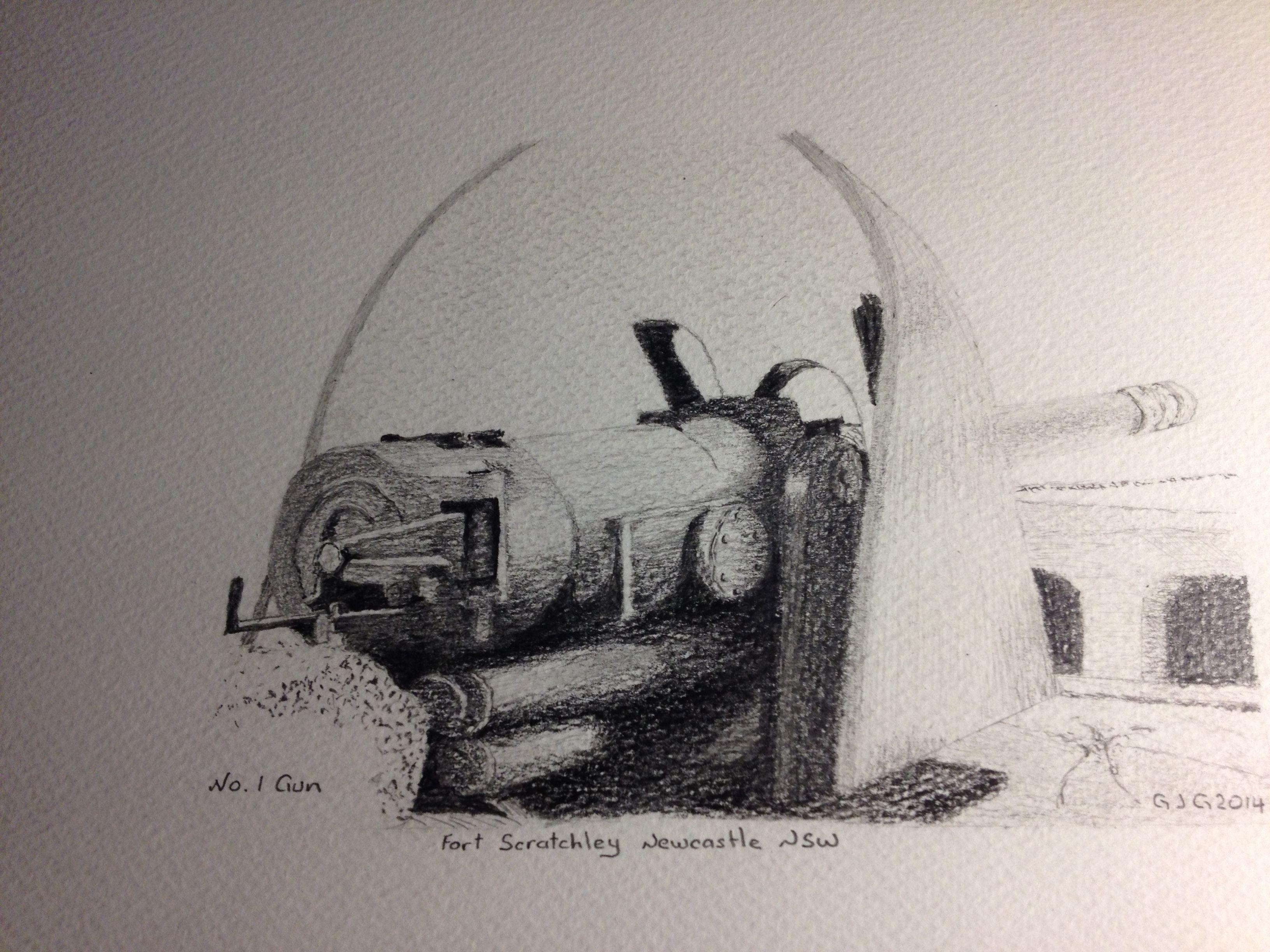 Pencil drawings graphite