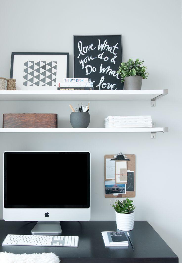Ansprechende Schreibtisch Regal Ideen Die Besten Ideen Zu Regalen ber Schreibtisch Auf