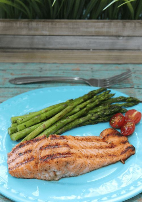 Indoor Grilled Cajun Salmon Recipe cooked to perfection on the @Hamilton Beach Indoor Searing Grill! #ad