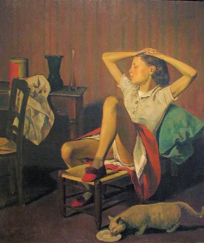 Balthus,  Therese Dreaming