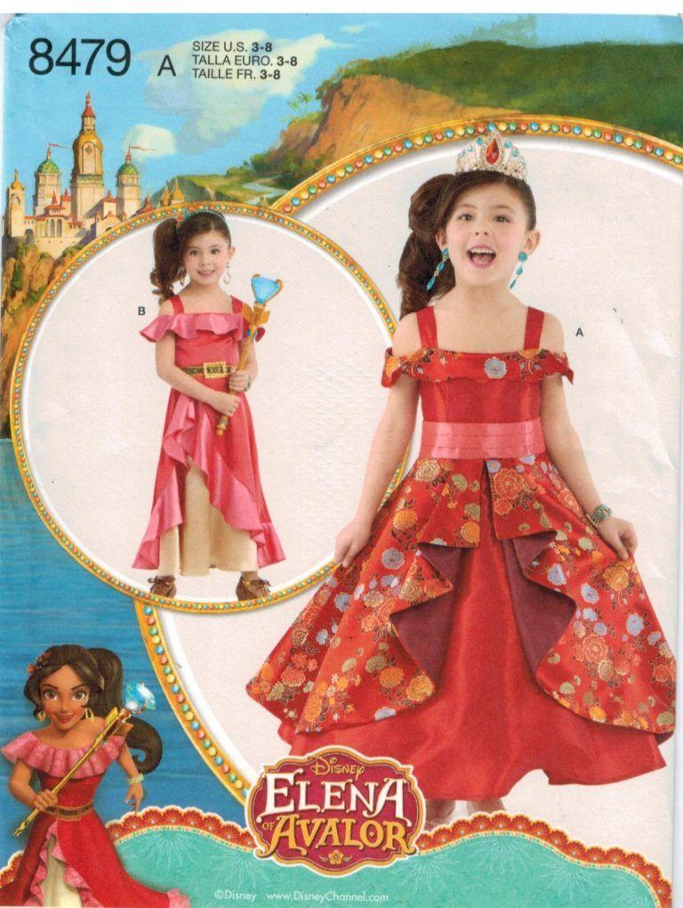 Simplicity Sewing Pattern 8113 Misses/' Costume Princess Zelda Inspired Dress
