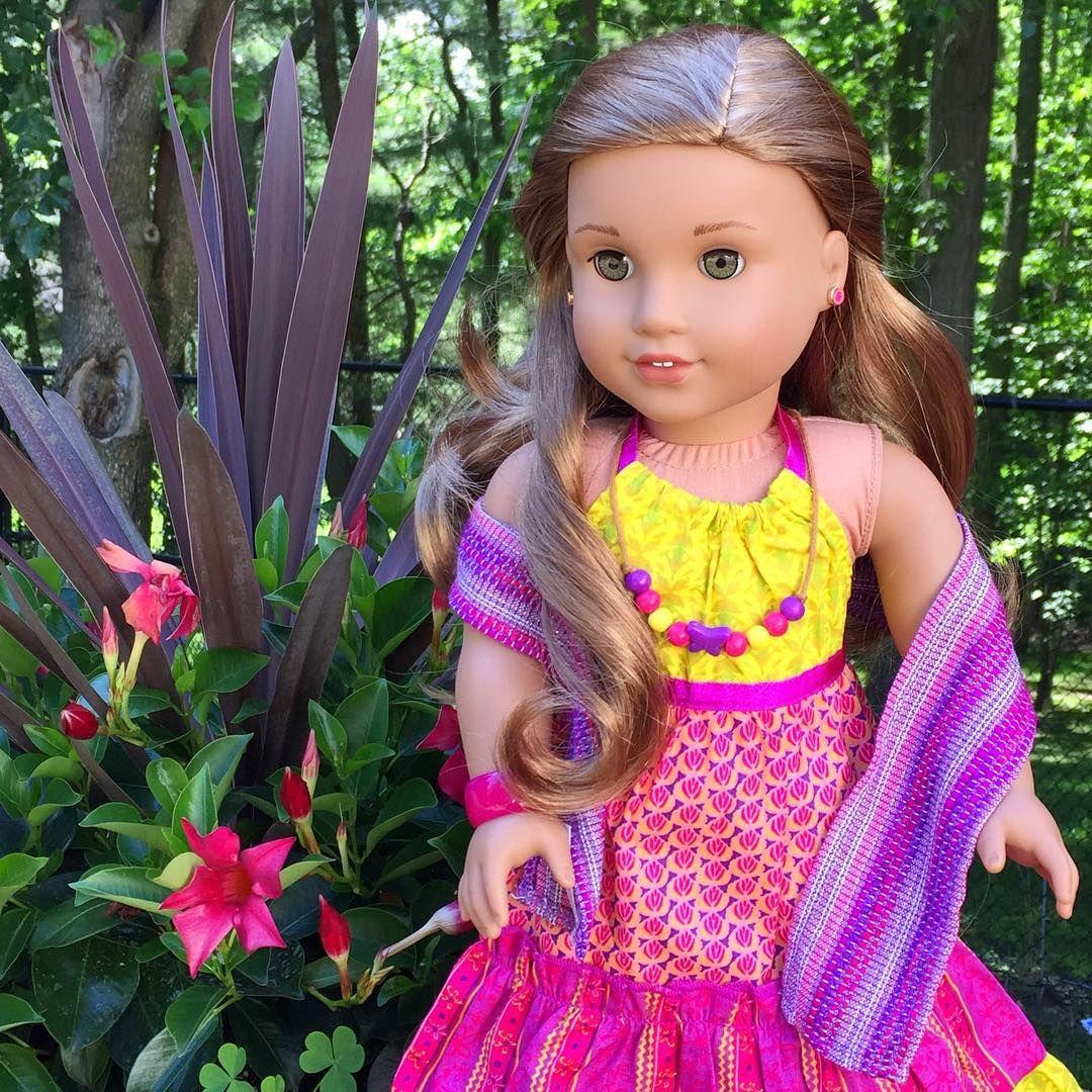 Beautiful Lea!  #agig #americangirldoll #americangirlbrand #famousdolls #joy2everygirl #agforallages #agdolls #goty2016 #leaclark